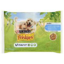 Friskies alutasak Junior Dog Multipack 4x100g Szószos válogatás