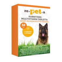 Repeta karnitines multivitamin tabletta sport- és munkakutyák részére 50x