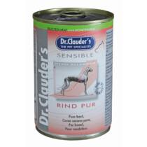 Dr.Clauders Konzerv Selected Meat Sensible Marha Pure 400g