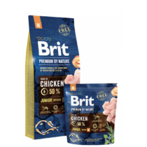 Brit Premium by Nature Medium Junior 15kg