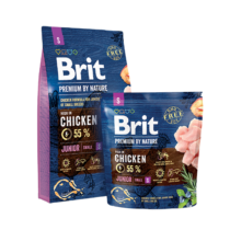 Brit Premium by Nature Small Junior 3kg