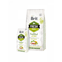 Brit Fresh Adult Run & Work Friss Kacsa kölessel 2,5 kg