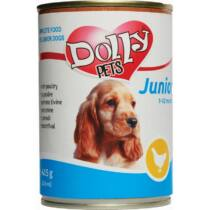 Dolly Dog Junior konzerv csirke 415gr