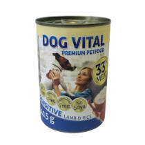 Dog Vital konzerv sensitive lamb&rice 415gr