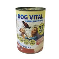 Dog Vital konzerv turkey&duck 415gr