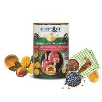 Happy&Fit Superior Friss Marhahús mangóval, áfonyával 400g