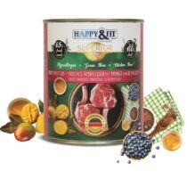 Happy&Fit Superior Friss Marhahús mangóval, áfonyával 800g