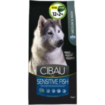 Cibau Sensitive Fish Medium/Maxi 12+2kg Promo