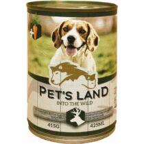 Pet s Land Dog Konzerv Vadashús répával 415g