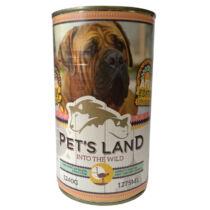 Pet s Land Dog Konzerv Strucchússal Africa Edition 1240g