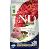 N&D Dog Quinoa Weight Management Bárány 2,5kg