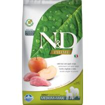 N&D Dog Prime vaddisznó&alma adult medium&maxi 2,5kg