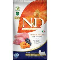 N&D Dog Grain Free bárány&áfonya sütőtökkel adult mini 2,5kg