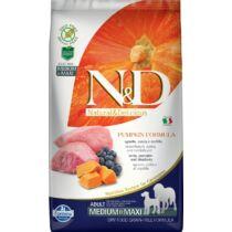 N&D Dog Grain Free bárány&áfonya sütőtökkel adult medium/maxi 2,5kg