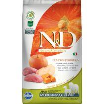 N&D Dog Grain Free vaddisznó&alma sütőtökkel adult medium/maxi 2,5kg