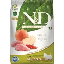 N&D Dog Prime Adult Mini Vaddisznó&alma 7kg