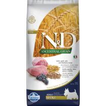 N&D Dog Ancestral Grain bárány,tönköly,zab&áfonya adult mini 7kg