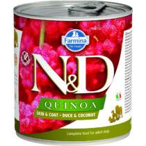 N&D Dog Quinoa konzerv kacsa&kókusz 285g