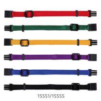 Nyakörv Kölyöknek S-M 17-25cm/10mm 6db Barna,Bézs,Szürke,Pink,Narancs,Kék