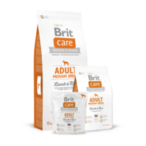 Brit Care Hypoallergen Adult Medium Lamb & Rice 12kg