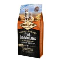 Carnilove Fresh Adult Dog Small Strucc & bárány - Excellent Digestion 6kg