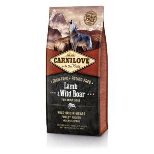 CarniLove Adult Bárány-Vaddisznó 12kg