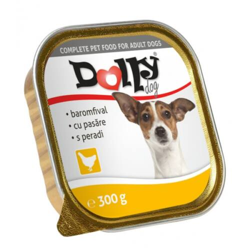 Dolly Dog Alutálka Baromfi 300gr