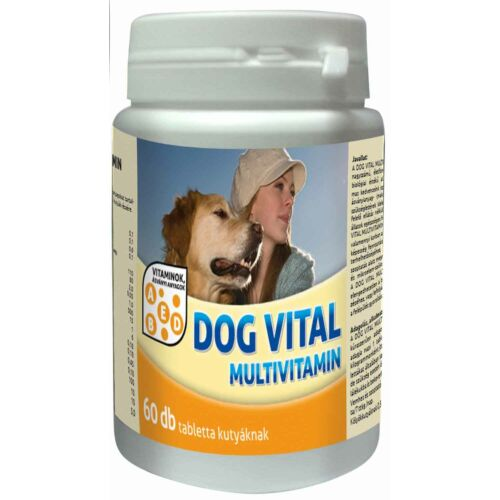 Dog Vital Multivitamin Tabletta 60db