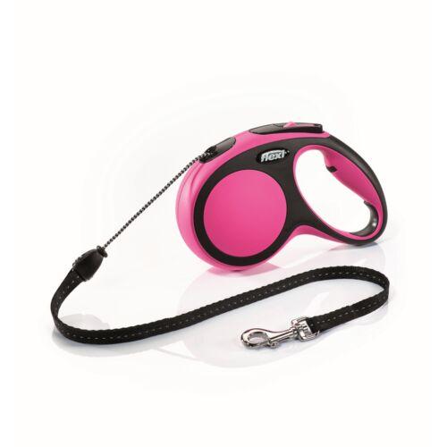 Flexi új Comfort M zsinór 5m,20kg-ig pink