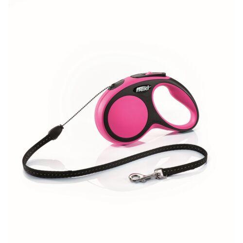 Flexi új Comfort S zsinór 5m,12kg-ig pink