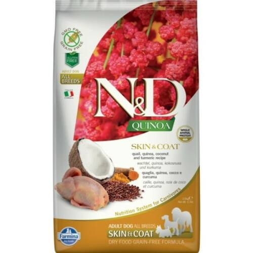 N&D Dog Quinoa Skin&coat Fürj 2,5kg