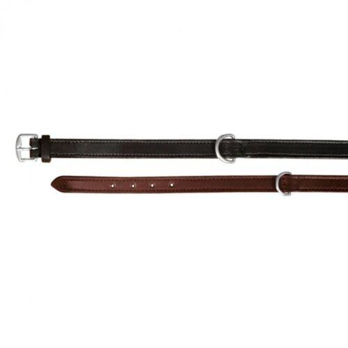 Nyakörv Active bőr M 36-43cm/18mm fekete