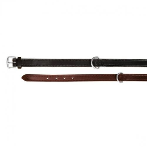 Nyakörv Active bőr M 39-46cm/22mm konyak