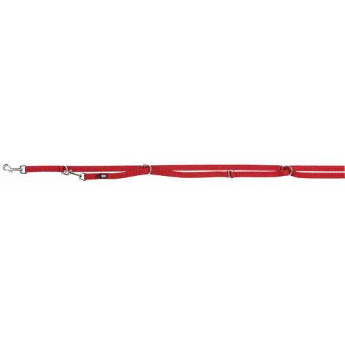 Póráz Hosszabbítható Prémium L–XL 3.00 m/25mm Piros