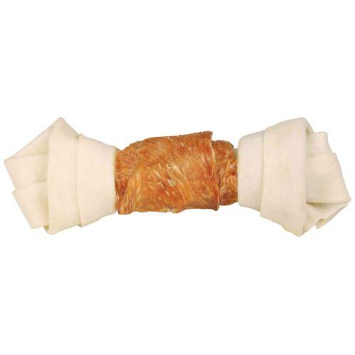Jutalomfalat Denta Fun Csomós Csont Csirkés 18cm/120g