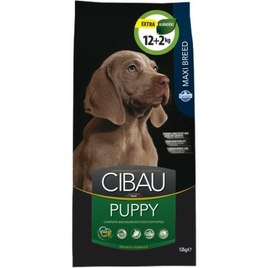 Cibau Puppy Maxi 12+2kg Promo