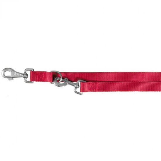 Póráz Classic L-XL 1,2-1,8m/25mm piros