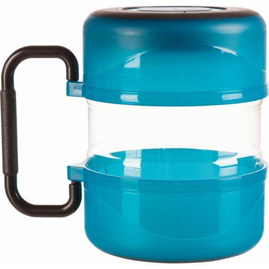 Utazó Szett Műanyag Kék 2l/0.75l