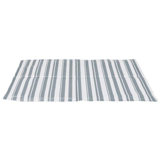 Hűtő matrac M 50x40cm fehér/szürke