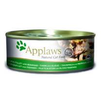 Applaws Cat Konzerv Tonhal és tengeri alga 156g
