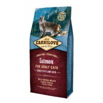 Carnilove Cat Adult Lazac – Sensitive & Long Hair 6kg