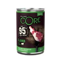 Wellness Core 95 Dog konzerv Bárány&sütőtök 400g