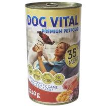 Dog Vital konzerv Poultry, Game,Pasta&Carrot 1240gr