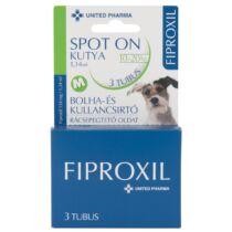Fiproxil Spot-On Kutya M 3x1,34ml