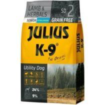 Julius-K9 Utility Senior bárány-gyógynövény hipoallergén kutyaeledel 10kg
