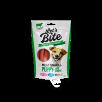 Brit Let's Bite Meat Snacks - puppy báráncsíkok 80g
