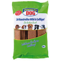 Jutalomfalat Perfecto Dog Húslap Vadas 200g