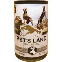 Pet s Land Dog Konzerv Vadashús répával 1240g