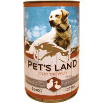 Pet s Land Dog Konzerv Baromfi 1240g