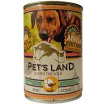 Pet s Land Dog Konzerv Strucchússal Africa Edition  415g